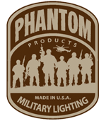 Logo for Phantom Military Lighting Products